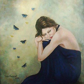 Butterflies 2 by Joan Barnard