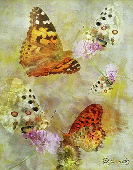 Butterflies Are Fleeting by Theresa Campbell