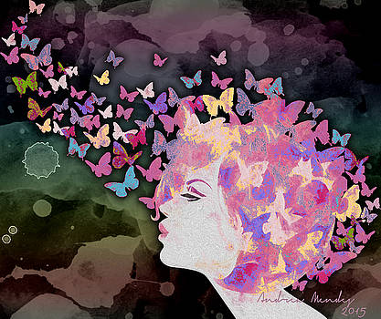 Thinking Butterflies by Andrea Ribeiro