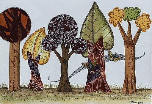 Butterflies Romance by Graciela Bello