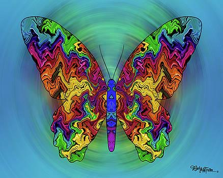 Butterfly Dreams #025 by Barbara Tristan