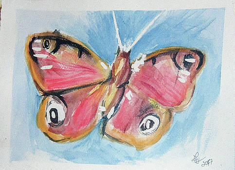 Butterfly 3 by Loretta Nash
