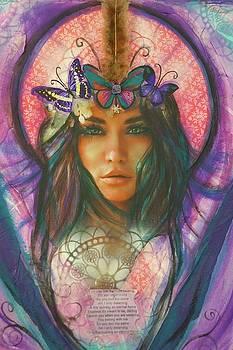 Butterfly Angel by Marley Art