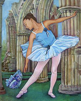 Butterfly Ballerina by Rachel M Cotton