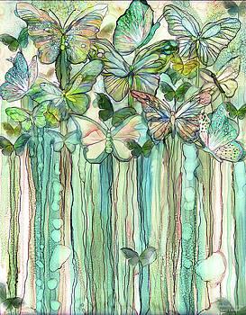 Butterfly Bloomies 1 - Peach by Carol Cavalaris