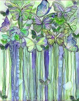 Butterfly Bloomies 1 - Purple by Carol Cavalaris