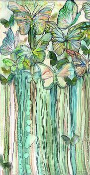 Butterfly Bloomies 2 - Peach by Carol Cavalaris