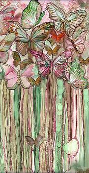 Butterfly Bloomies 2 - Pink by Carol Cavalaris