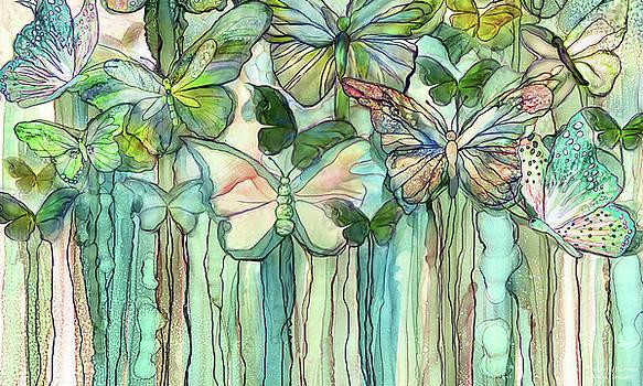 Butterfly Bloomies 3 - Peach by Carol Cavalaris