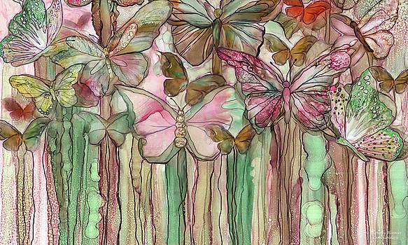 Butterfly Bloomies 3 - Pink by Carol Cavalaris