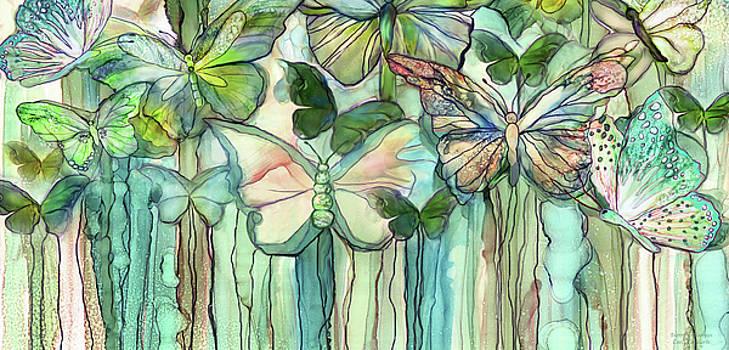 Butterfly Bloomies 4 - Peach by Carol Cavalaris