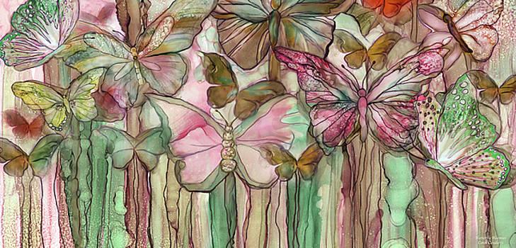 Butterfly Bloomies 4 - Pink by Carol Cavalaris