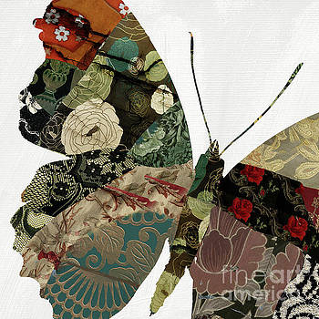 Butterfly Brocade V by Mindy Sommers