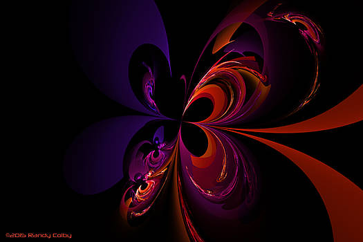 Butterfly Crescents by Randy Colby
