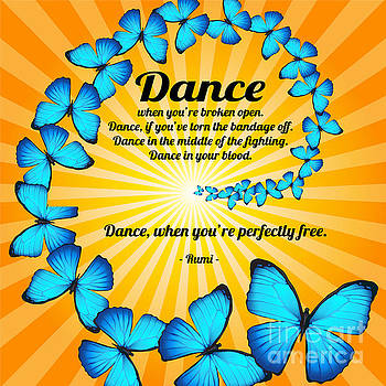 Butterfly Dance with Rumi by Ginny Gaura