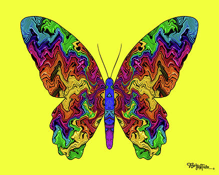Butterfly Energy #026 by Barbara Tristan