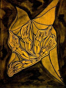 Butterfly by Tuki Makhatchadze