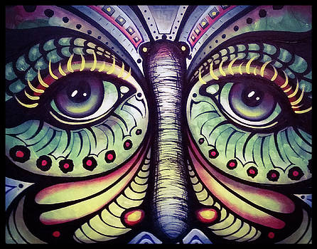 Butterfly Eyes by Matt Mercer