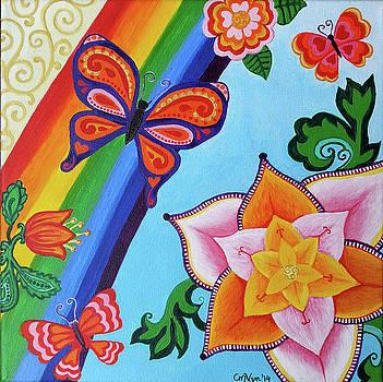 Butterfly Garden by Michelle Vyn