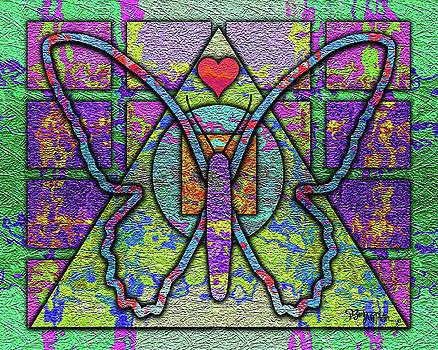 Butterfly Geometry #030 by Barbara Tristan