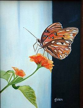 Butterfly by Gwendolyn Frazier