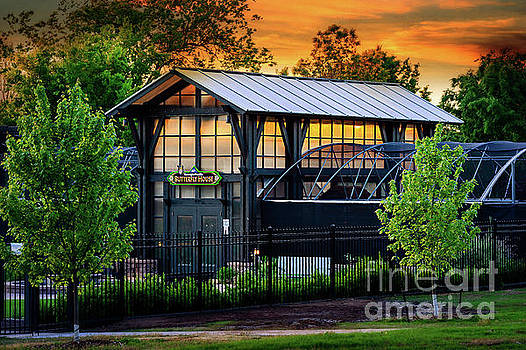 Butterfly House at Sunset by Tamyra Ayles