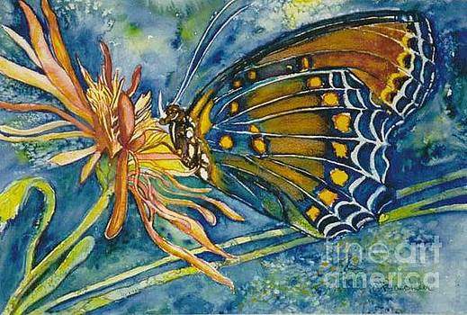 Butterfly in CA by Norma Boeckler
