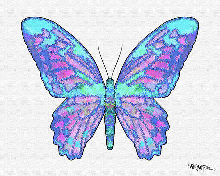 Butterfly Intuition #028 by Barbara Tristan