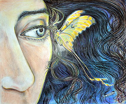 Butterfly Kiss by Susan Moore