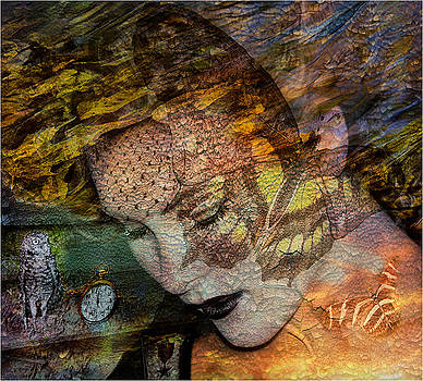 Butterfly Lady by Janet Bongiovanni