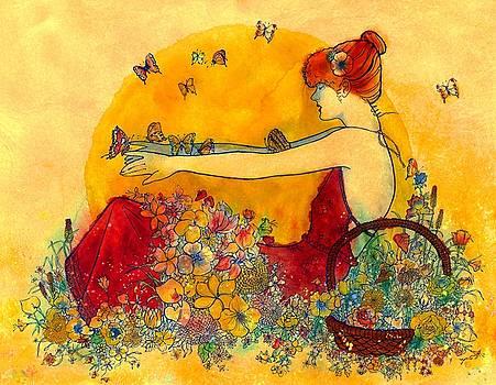 Butterfly Lady by John YATO