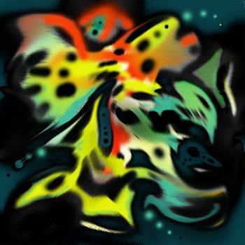 Butterfly Menagerie by Diane Ellingham
