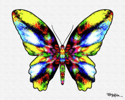 Butterfly Messenger #027 by Barbara Tristan