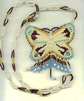 Butterfly necklace by Margaret Platt