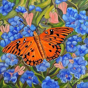 Caroline Street - Butterfly Orange