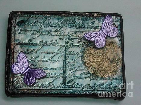 Butterfly Pendant 1 by M Brandl