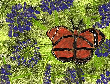 Butterfly by Rosemary Mazzulla