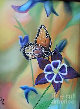 Butterfly series#4 by Dianna Lewis
