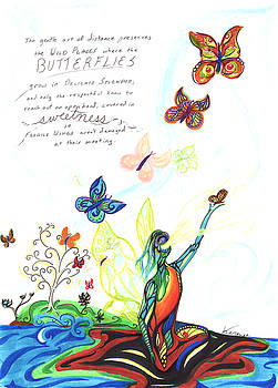 Butterfly Sweetness by Karen  Renee