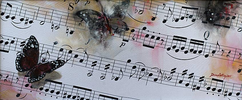 Butterfly Symphony by Dorina  Costras