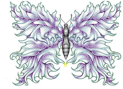 Karen Musick - Butterfly Tattoo 2