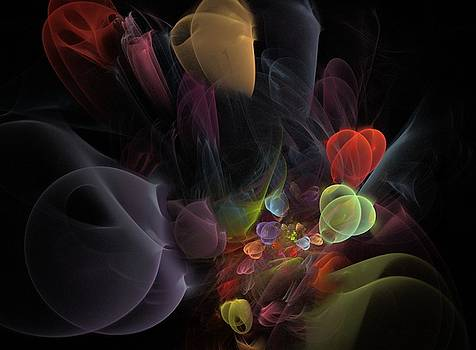 Butterfly Tea - Fractal Art by NirvanaBlues