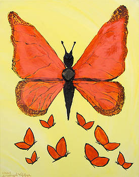 Butterfly Woman by Emerald GreenForest