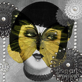 Butterfly Woman by Mindy Sommers