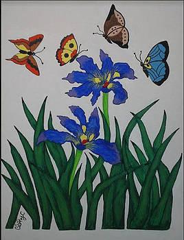 Butterfly's Addiction  by Catherine Velardo