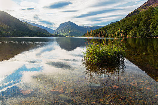 Buttermere Dawn by Stuart Gennery
