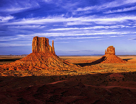 Buttes of Monument Valley by Andrew Soundarajan