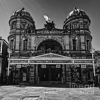 Buxton opera house square mono by Steev Stamford