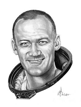 Buzz Aldrin by Murphy Elliott