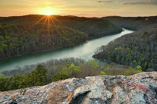 Buzzard Rock - Kentucky by Jeff Burcher